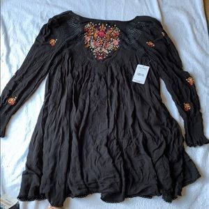NWT Free People Black Dress, size small